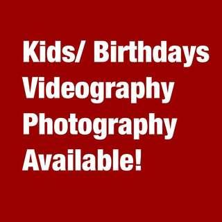 Kids   Birthday Party Videography/ Photography