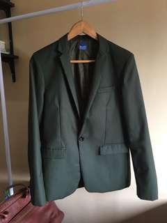 MAIN STREET Olive green Blazer (S-M)