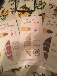Incoco Nail polish 美甲貼