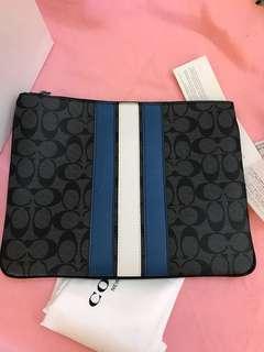 Coach Men's Wallet iPad case wallet wristlets clutch