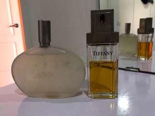 Lots of 2 Ann Taylor and Tiffany perfume