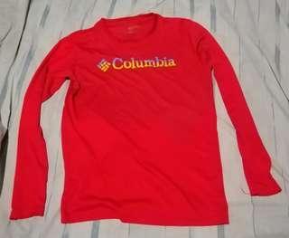 Columbia Drifit shirt and goretex jacket for hiking trekking