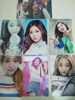 Twice tzuyu photocards