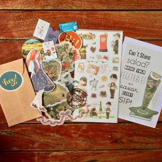 Stickers and Poster Set (C)
