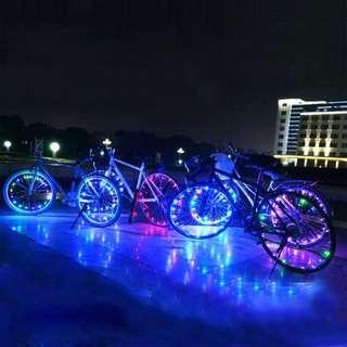 🚚 Bicycle Wheel Spoke Decorative LED Light Article Bar Strip-15 LEDs