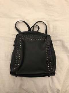 Brand New Convertible Black Backpack / Handbag