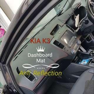 KIA K3 Dashboard mat