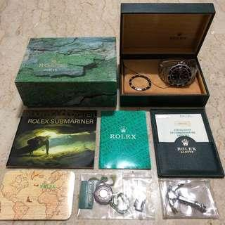 Rolex Submariner Ref: 16610 LN (Full Set)