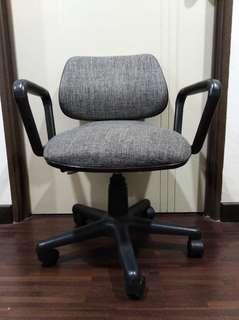 Office chair grey adjustable