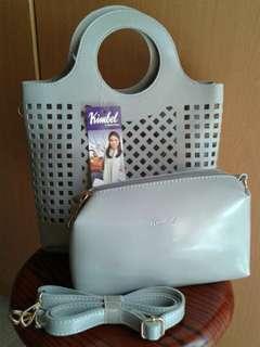 Kimbel sling bag (grey)