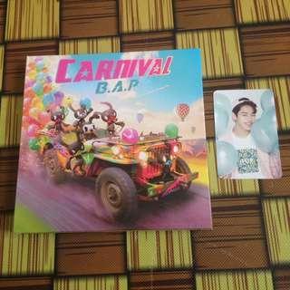 B.A.P CARNIVAL ALBUM