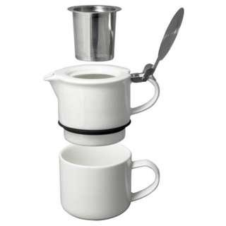 Tea for One with Infuser 14oz.