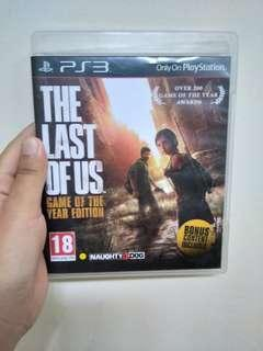 PS3 Bluray The Last Of Us GOTY