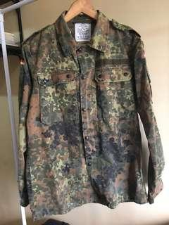 Authentic German Camouflage Jacket (M-L)