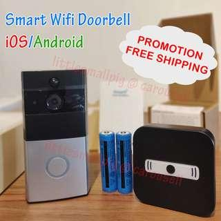 🚚 Wifi Doorbell Camera 2018 Smart Home Ready Stock