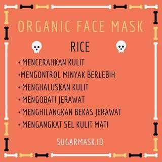 RICE ORGANIC FACE MASK