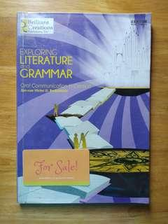 SHS Book: Exploring Literature and Grammar (Oral Communication in Context)