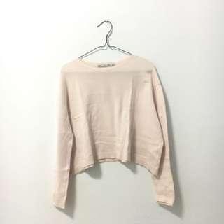 Zara Knit Pink Crop Top