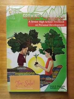 SHS Book: Growing in Character: A Senior High School Textbook on Personal Development