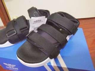 🚚 現貨 Adidas Adilette Sandal W S75382 厚底 涼鞋 黑 韓國  愛迪達  #含運最划算