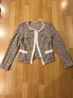 Review knit jacket
