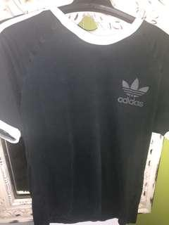 Adidas three stripe tee
