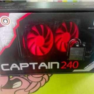 Deepcool Captain 240 AIO CPU Liquid/Water Cooling System