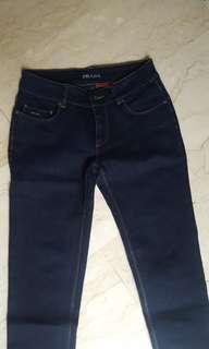 Prada vintage dark denim jeans