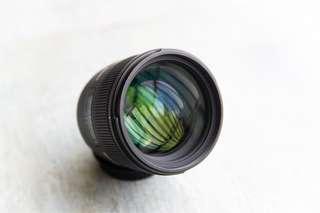 85mm f1.4 Canon mount Sigma EX HSM f/1.4