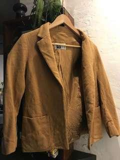 Vintage wool camel coat/blazer