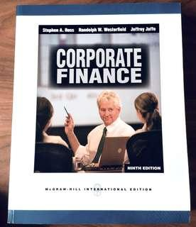 Corporate Finance - 9th ed.
