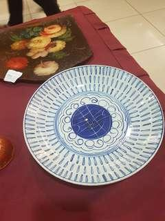 Chinese 1880's plate with Buddhist symbols