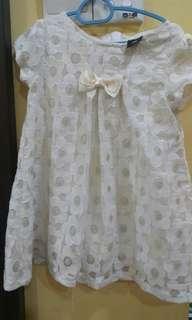 Cream sweet dress