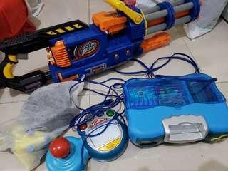 玩具槍 x Vtech TV Game