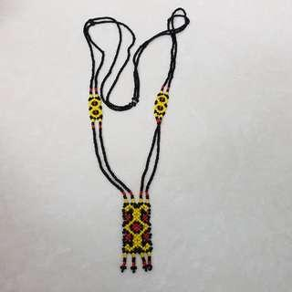 Black / Yellow Necklace