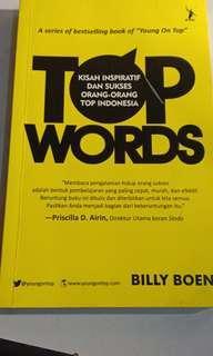 Top words. Billy boen