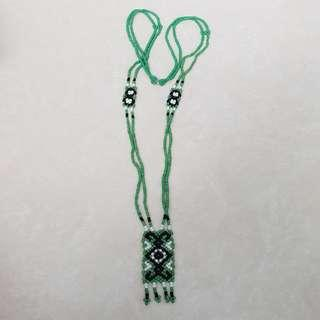 Green / Black Necklace