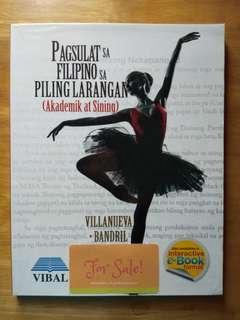 SHS Book: Pagsulat sa Filipino sa Piling Larangan (Akademik at Sining)