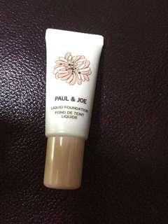 Paul & Joe Liquid Foundation sample