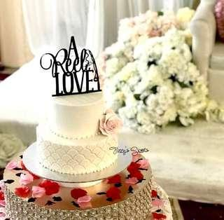 A Reel Love Crafte Cake Topper