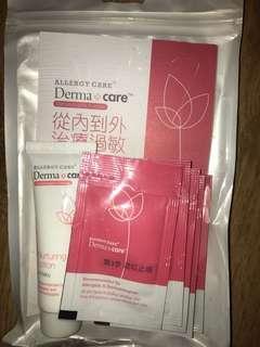 Derma Care lotion + cream x7 packs