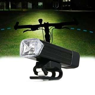 🚚 MC-QD001 180 Lumens Light Bicycle USB rechargeable aluminum light LED Front Bike Safety Light