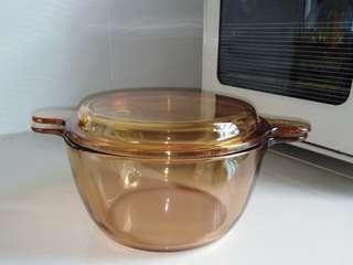Vision  glass pot & Lid, 1.5L