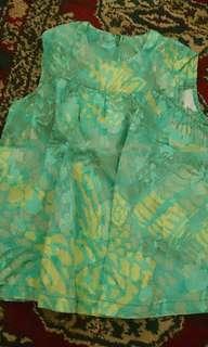 Cotton dress 12-24m