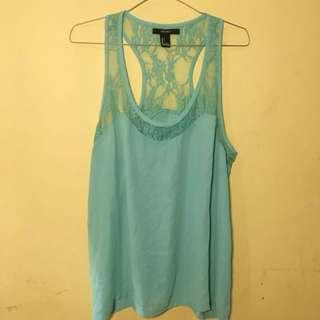F21 Forever 21 Tosca Lace Tanktop / Top Tosca