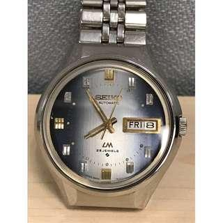 SEIKO Vintage Lord Matic 5606-7290 AUTOMATIC 25 JEWELS WATCH