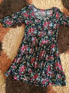 Floral Dress Ada Woman