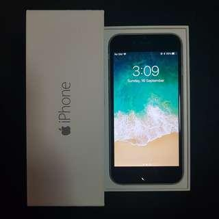 Brand New Condition iPhone 6 64GB Space Grey Full Set in Box
