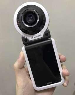 Casio fr-100 美顏運動相機