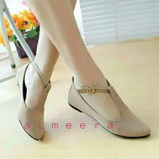 #bantingharga #nett #nobarter flat shoes almeera cream